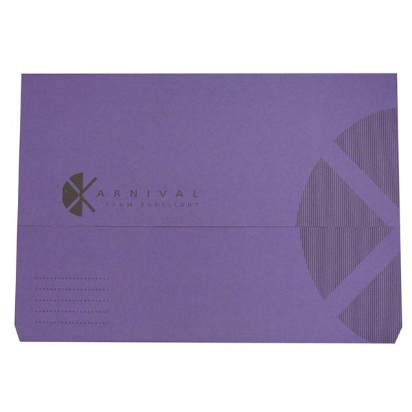 Eastlight Karnival Document Wallet Foolscap Violet -