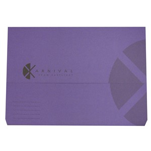 Eastlight Karnival Document Wallet Foolscap Violet