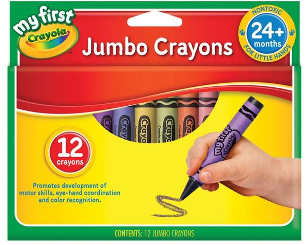 Crayola My First Crayons Jumbo 12 Pack - pr_1702737