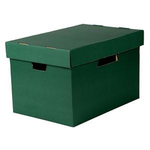 Esselte Archive Storage Box & Lid Green