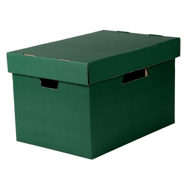 Esselte Archive Storage Box & Lid Green - pr_1702011