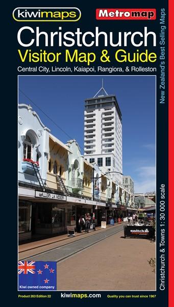 Metromap Christchurch Visitor Map & Guide -