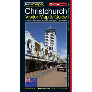 Metromap Christchurch Visitor Map & Guide