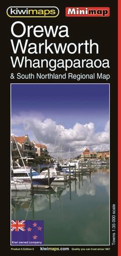 Minimap Whangaparaoa & Orewa - pr_1700974