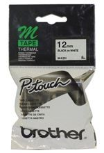 LABEL BROTHER PTOUCH MK231 12MM BLK/WHT - pr_1765012