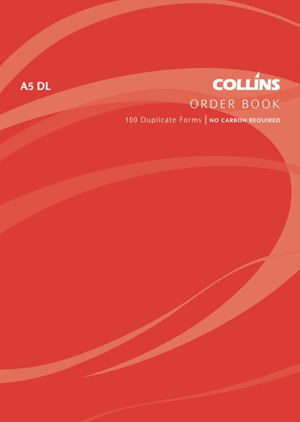 Collins Goods Order Book A5 DL Duplicate 100 Pages -