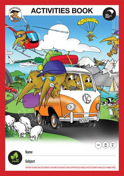 Clever Kiwi Activity Book -