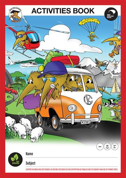 Clever Kiwi Activity Book - pr_427380