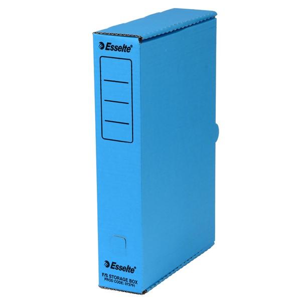 Esselte Storage Box Foolscap Blue -