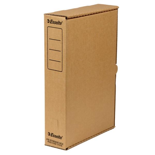 Esselte Storage Box Foolscap Kraft -