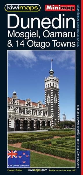 Minimap Dunedin Mosgiel Oamaru - pr_1702799