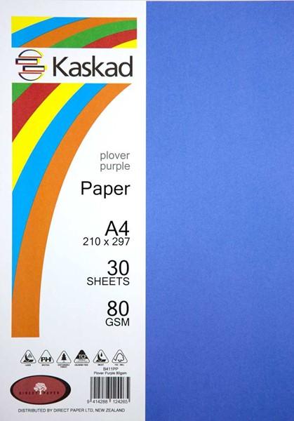Kaskad Paper A4 80gsm Plover Purple Pack 30 - pr_1702002