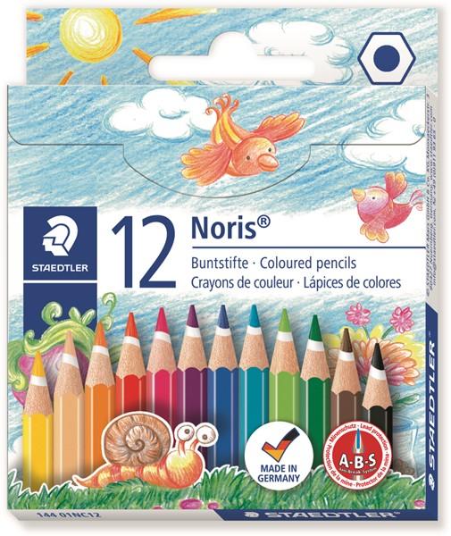 Staedtler Noris Club Coloured Pencil Classic Half Length 12Pk - pr_400742
