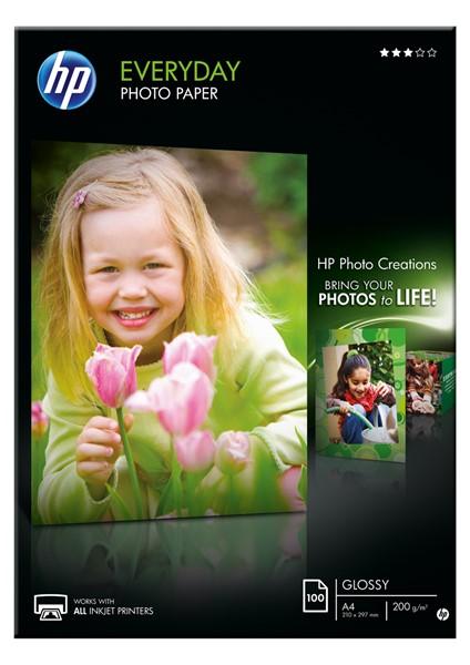 HP Photo Paper Everyday A4 Q2510A 200gsm Pack 100 - pr_400750