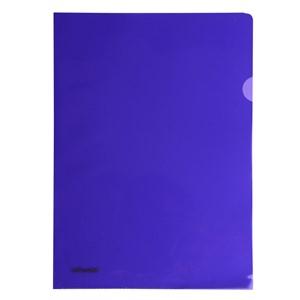 Esselte L-Shaped Pockets Heavy Duty A4 Purple, Pack of 12
