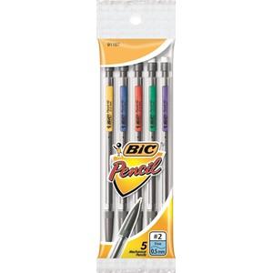 Bic Mechanical Pencil 0.7mm 10K Pack 5