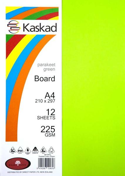 Kaskad Board A4 225gsm Parakeet Green Pack 12 - pr_1702542