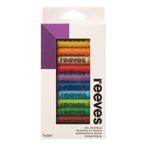 Reeves Oil Pastels Set Assorted Pack 12