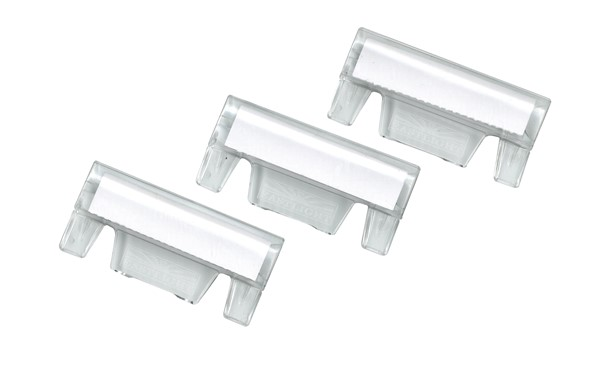 Accoflex Tabs & Labels Suspension Inserts Clear, Pack of 25 -