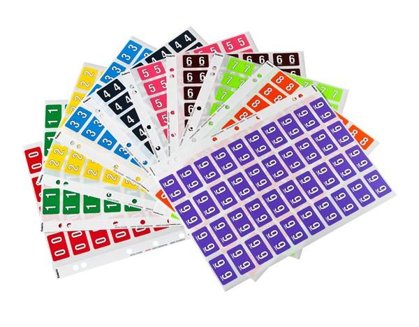 Codafile Labels 0-9 25mm - pr_400857