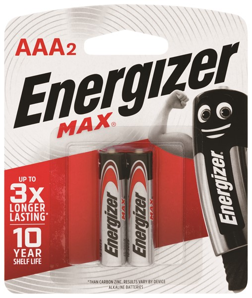 Energizer Battery Max AAA Pack 2 - pr_400862