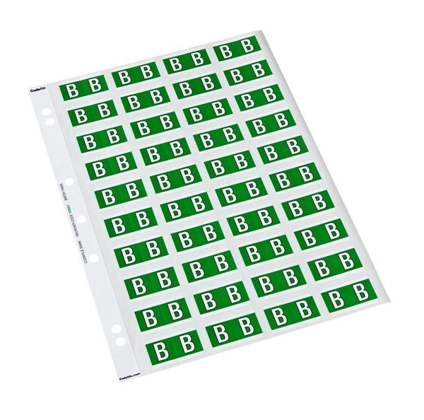 Codafile Labels B 25mm Sheet 5 - pr_400871