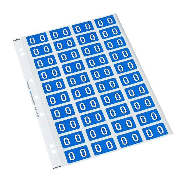 Codafile Labels O 25mm Sheet 5 - pr_400882