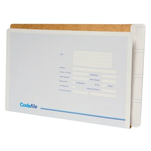 Codafile Left Hand Pocket 35mm Lateral Files Pack 50