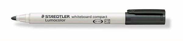 Staedtler Lumocolour Whiteboard Marker Compact Black -