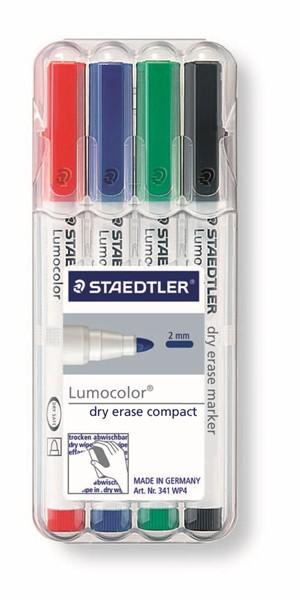 Staedtler Lumocolour Whiteboard Marker Compact Pack 4 - pr_1702398