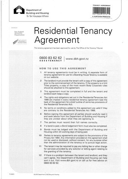 Tenancy Agreement Form - pr_400891