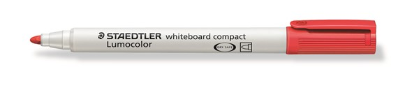 Staedtler Lumocolour Whiteboard Marker Compact Red -