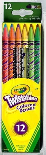 Crayola Coloured Pencils Twistable 12 Pack - pr_400896