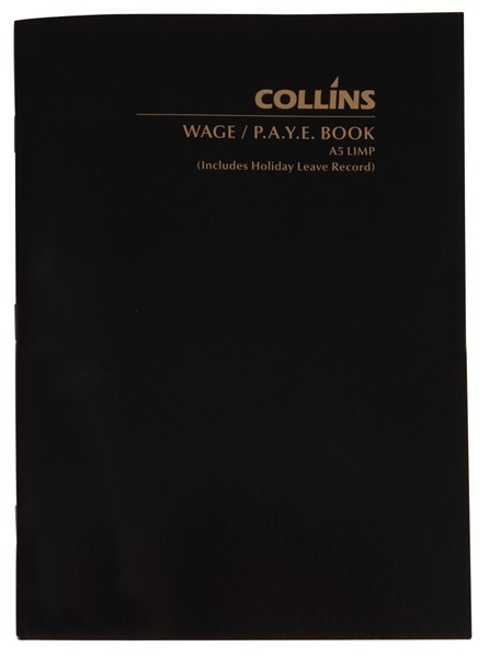 Collins Wage Book A5 Limp 64 Pages -