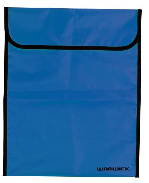 Warwick Large Homework Bag Fluoro Blue -