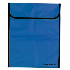 Warwick Large Homework Bag Fluoro Blue