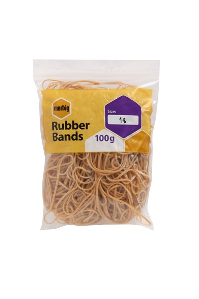Marbig Rubber Bands Size 18 100gm - pr_1702631
