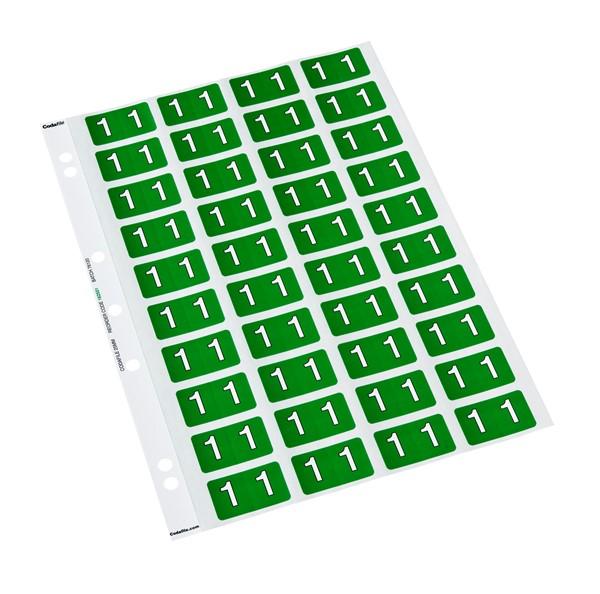 Codafile Labels 1 25mm Sheet 5 - pr_401236