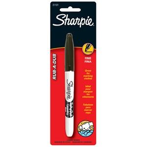 Sharpie Rub A Dub Laundry Marker Black