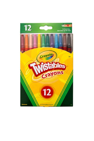 Crayola Crayons Twistable 12 Pack -