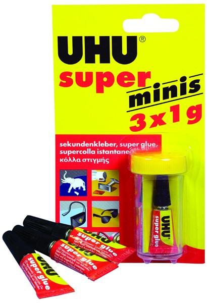 UHU Glue Super Minis 1g Pack 3 - pr_427398