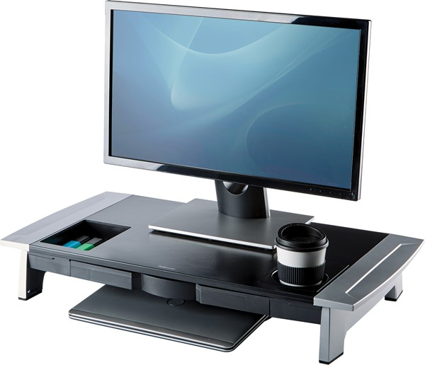 Fellowes Office Suites Premium Monitor Riser -