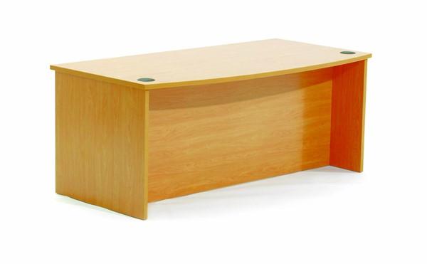 Ergoplan Desk Bow-Front 1800x900 Express Tawa - pr_401300