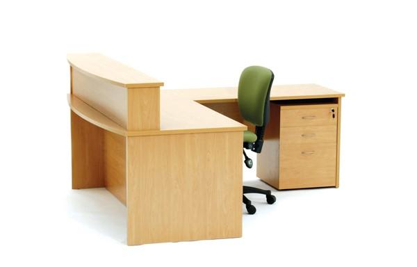 Ergoplan Desk Bow-Front 1800x900 Express Tawa - pr_401299
