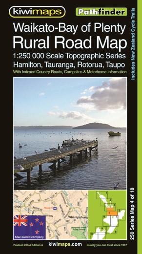 Rural Road Maps Waikato Bay Of Plenty - pr_1701007