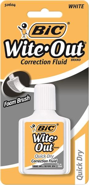 Bic Correction Fluid Quick Dry 20ml - pr_401337