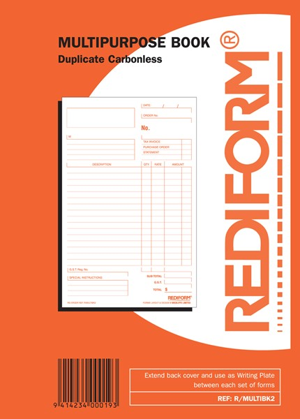 Rediform Account Book Multipurpose Duplicate 50 Pages - pr_1773071