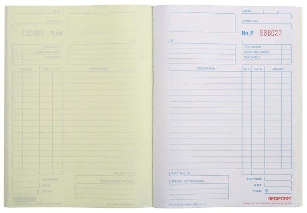 Rediform Account Book Multipurpose Duplicate 50 Pages - pr_1773057