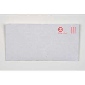 New Zealand Post DLE Postage Included Envelope (Non-Window) Pack25