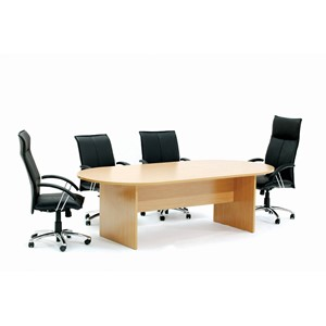 Ergoplan Boardroom Table 2400W x 1200D Express Tawa